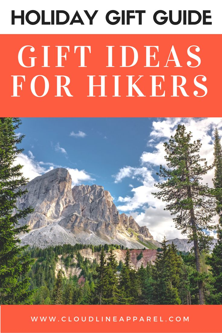 Holiday gift guide for Hikers, Backpackers, campers, and other adventurers.