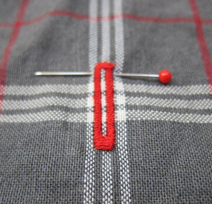[Astuce] Ouvrir une boutonnière - Le blog thread&needles