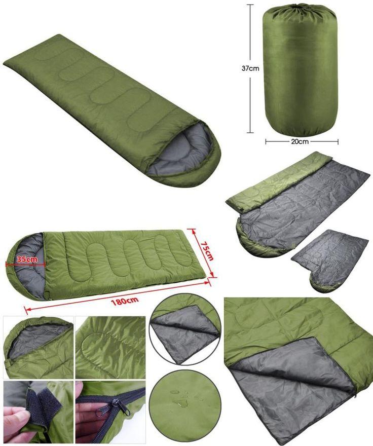 [Visit to Buy] 1.8M Long Hot Sale Promotional Ultralight Sleeping Bag outdoor Camping Sport Adult Envelope Type Waterproof Single Sleeping Bags #Advertisement
