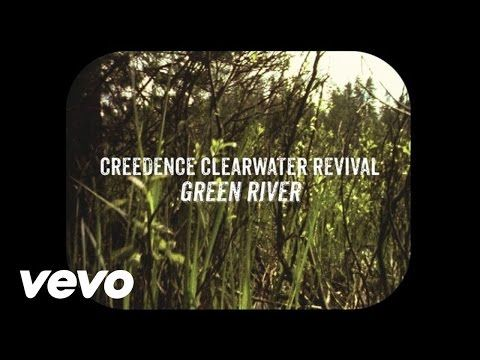 "Creedence Clearwater Revival - Green River"" (Lyric Video) - YouTube. The first electric live music I ever heard was by a band covering this song. It sounded great, and I was hooked. Masterpiece of a song!"