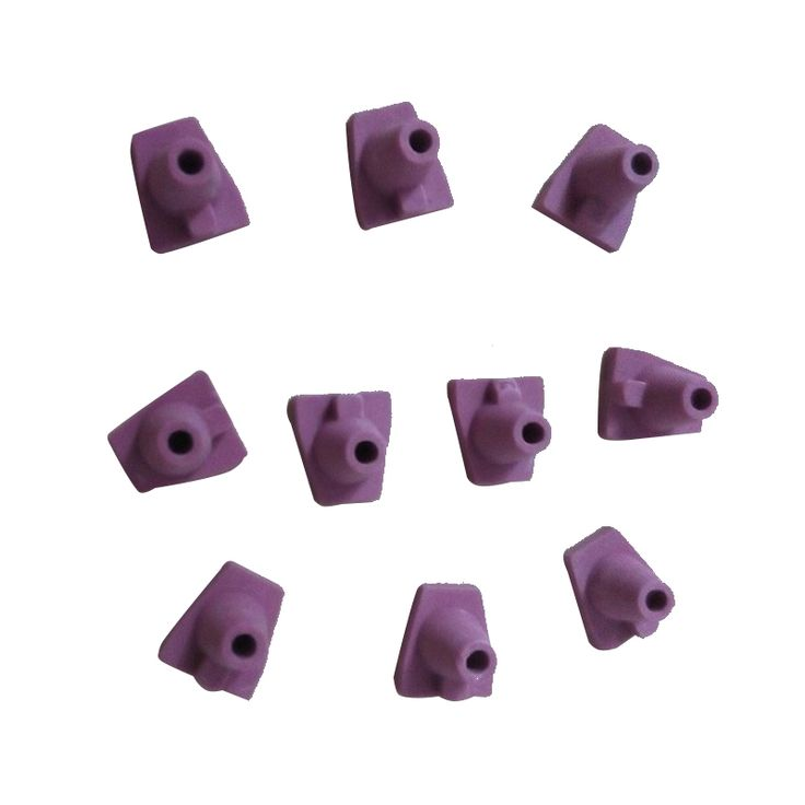 10pcs Ceramic Firing Pink Pegs Dental Lab for Single Porcelain Crown Oven Tray #Affiliate
