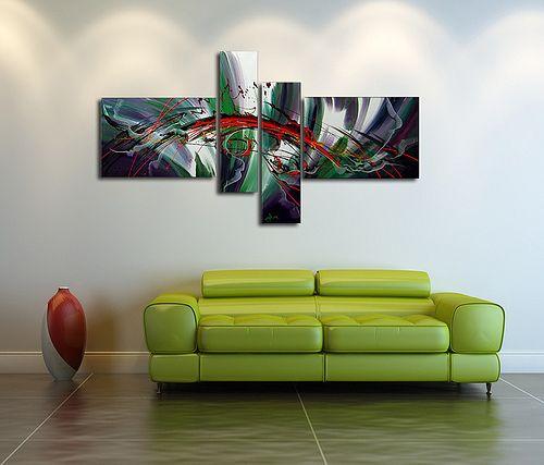 Oil Paintings in Living Rooms