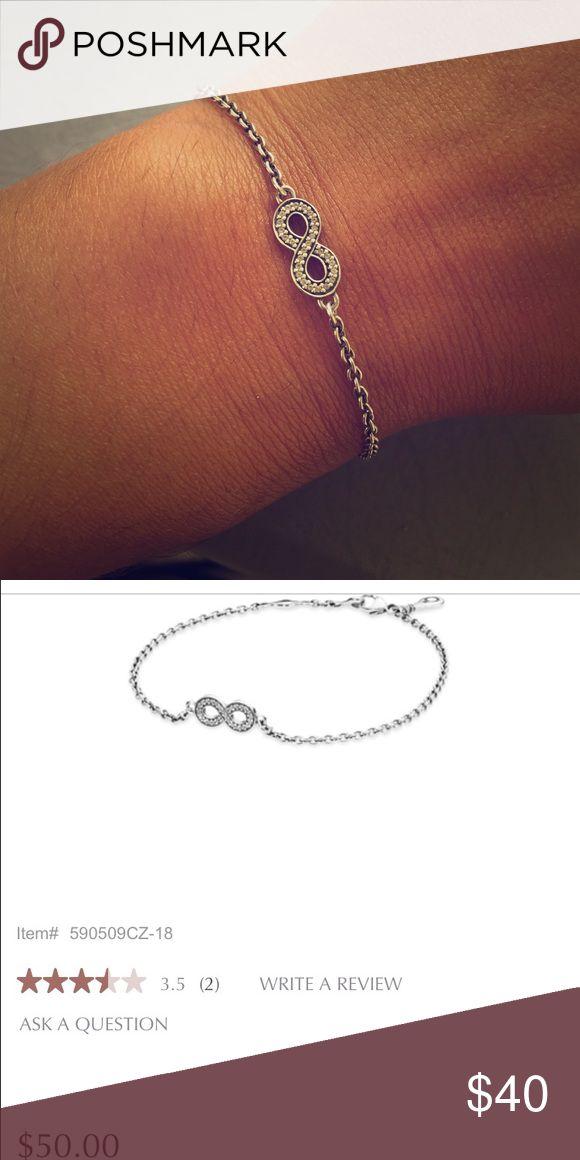 3ff5beaa3 ... Pandora Symbol of Infinity bracelet Pandora Symbol of Infinity bracelet,  beautiful and dainty piece of ...