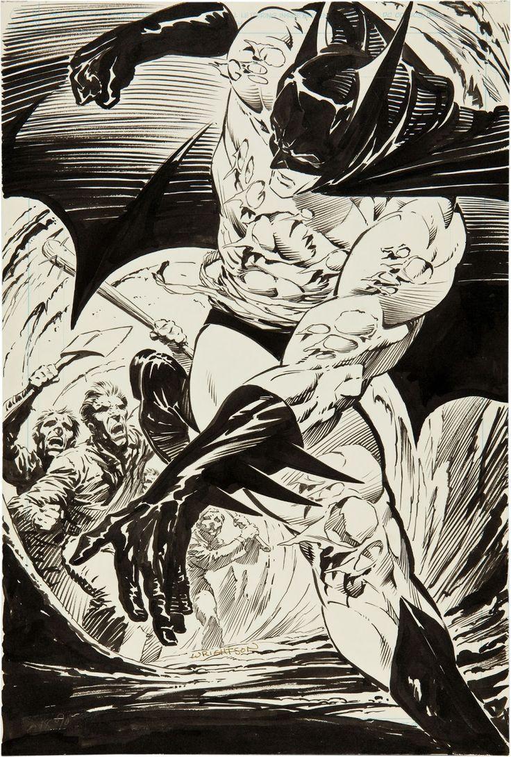 Batman by Bernie Wrightson