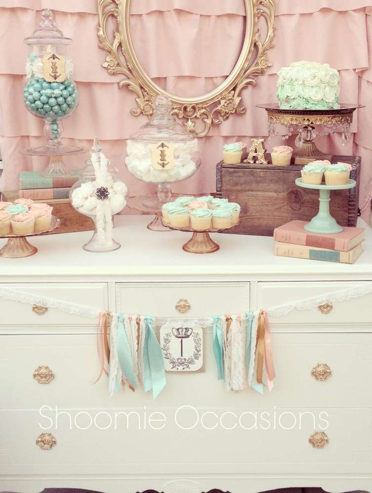Vintage Chic Birthday Party Ideas | Photo 1 of 16 | Catch My Party