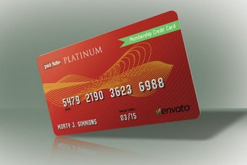 credit card or debit card at gas station