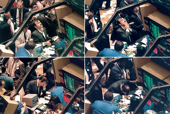Black Monday 1987. There was nothing left traders could do.