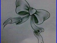 bows tattoo designs
