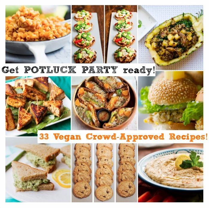 33 Potluck Perfect Vegan Dishes! Thank Heaven For This