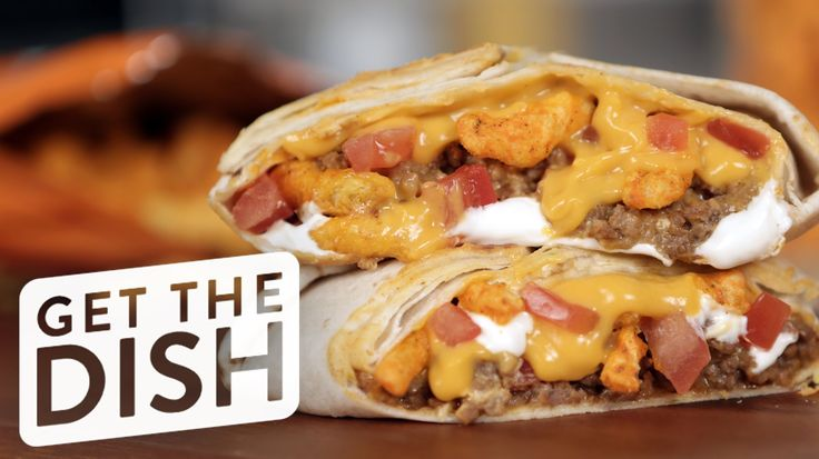 When we heard that Taco Bell was slinging Cheetos Crunchwrap sliders, we knew this would be the best thing since potato chips in our peanut butter and jelly ...