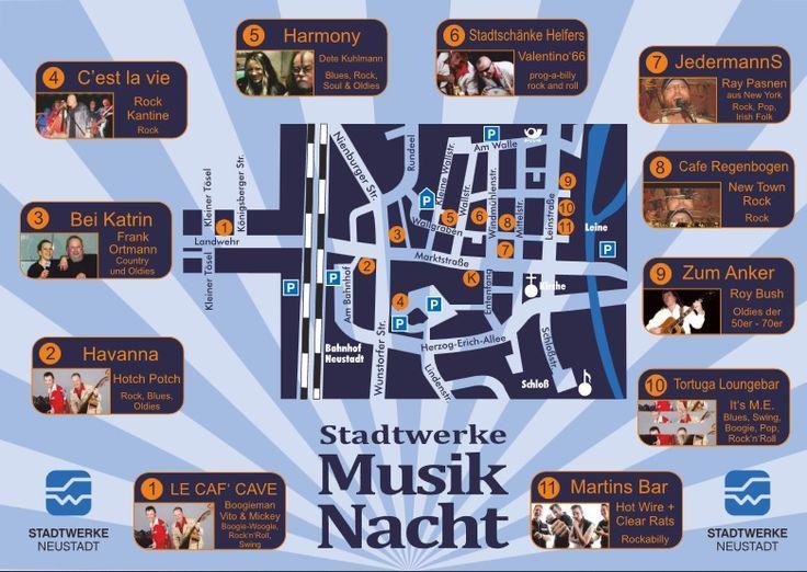 Stadtwerke Musiknacht Neustadt am Rübenberge