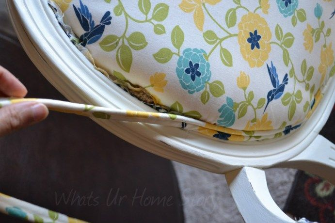 Whats Ur Home Story: How to re-upholster a chair