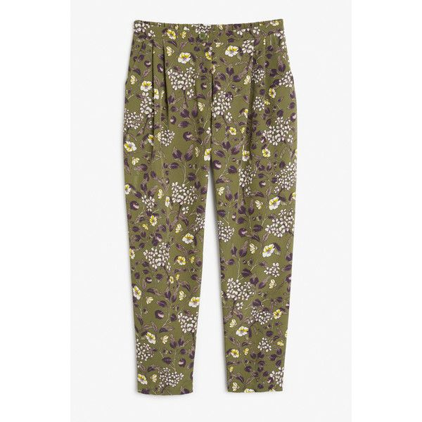 Monki | View all new | Fancy trousers ($25) ❤ liked on Polyvore featuring skirts, long patterned skirt, front zip skirt, patterned skirts, brown maxi skirt and print maxi skirt