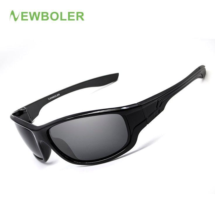 DUBERY Polarisiert Sonnenbrille Herren Square Sport Angeln Brille Anti UV400 DE