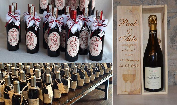 Oltre 25 fantastiche idee su etichette per bomboniere su - Portaghiaccio per bottiglie ...