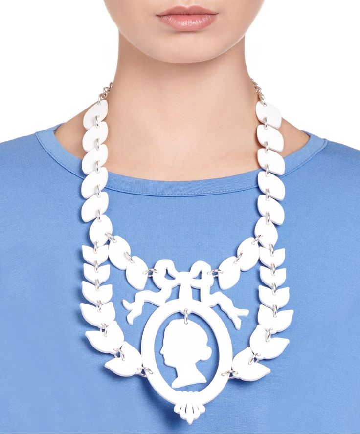 Jasper Cameo Large Necklace