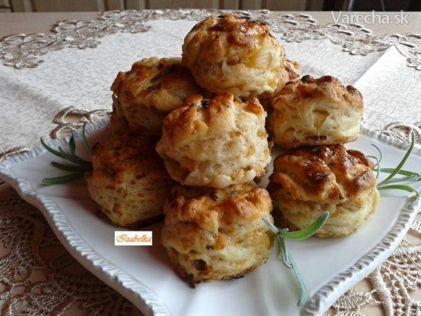 Kapustovo-škvarkové pagáče (fotorecept)