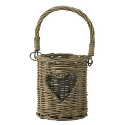 Containing a small jar inside, this is the perfect rustic accessory for your home. #BalticSummer #Wicker