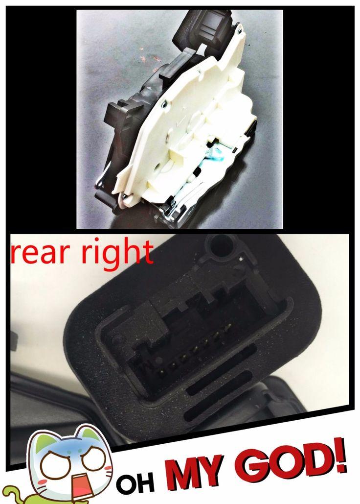 43.00$  Buy now - http://alifgo.shopchina.info/1/go.php?t=32803766676 - rear right for VW GOLF JETTA SKODA YETI (5L) SEAT ALHAMBRA (7N) LEON III (5F) LEON ST (5F) Door Lock Latch Actuator Driver Side  #aliexpressideas