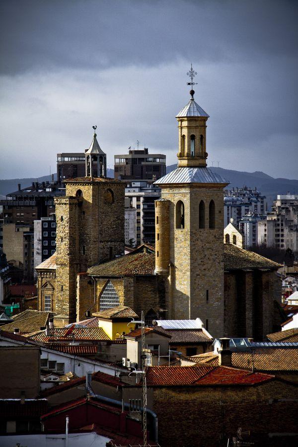 Pamplona's Light, Navarre, Spain   by Santi González