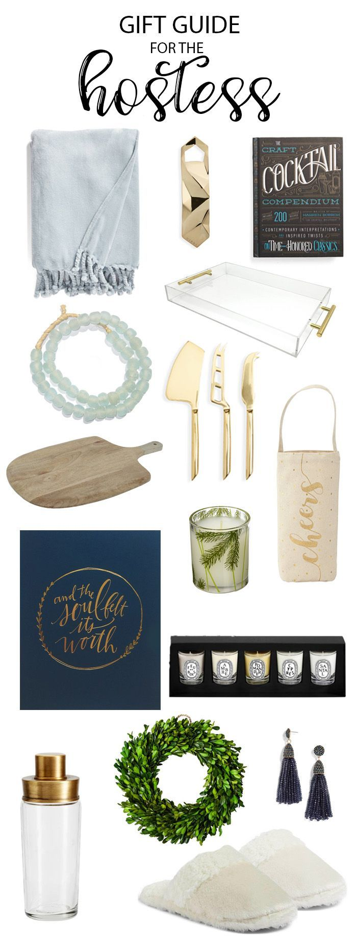 Holiday Gift Guide: For The Hostess - Life On Virginia Street #giftguide #christmasgifts #hostessgifts  #giftsforher #ChristmasDecorations