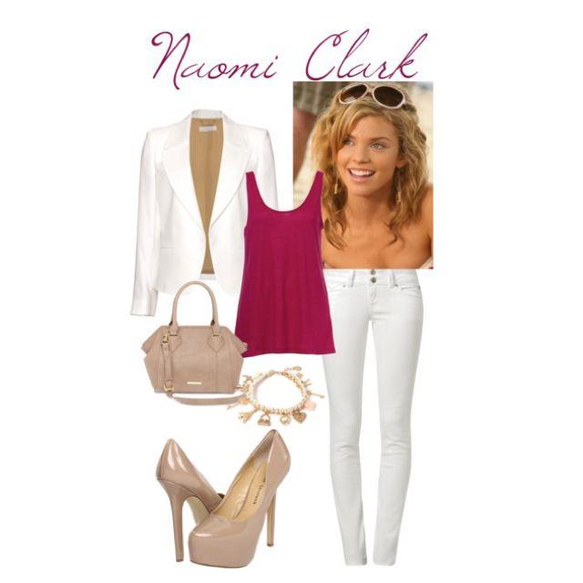 90210: Naomi Clark by justyce-thibault