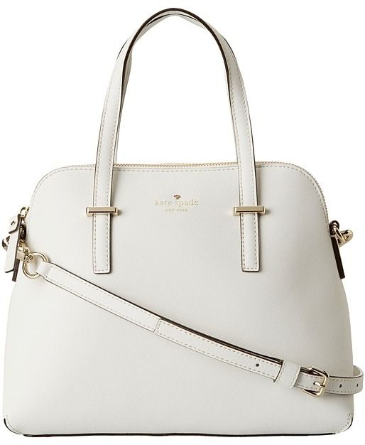Kate Spade New York - Cedar Street Maise (Cream) - Bags and Luggage
