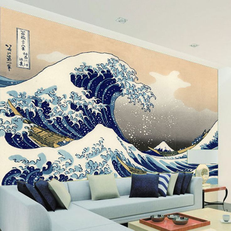 Cheap  Giappone ukiyoe foto wallpaper grande formato carta da parati vintage sea wave wall mural art arredamento della camera da letto corridoio tv sfondo muro  , Compro Qualità Carte da parati direttamente da fornitori della Cina:        Può essere personalizzato per il vostro formato richiesto           Nel modo seguente:          Misur