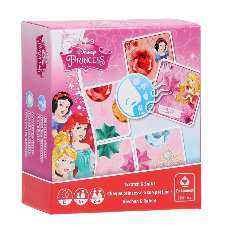 Disney Prinses spellendoos met geurkaarten. Afmeting: verpakking 23,5x 13 x 12,5 cm. - Disney Prinses Spellendoos met Geurkaarten