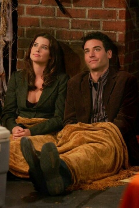 Ted and Robin How I Met Your Mother #himym #howimetyourmother