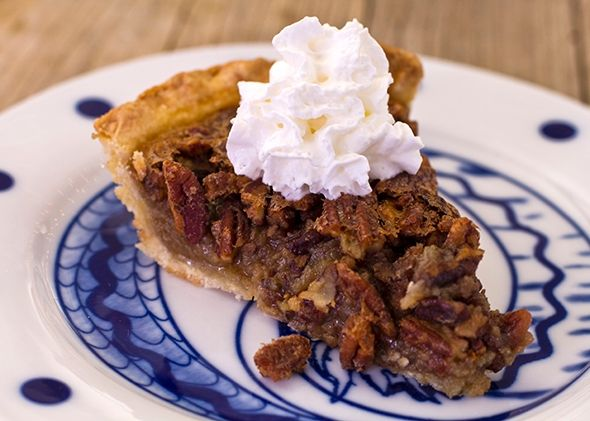 Maple pecan pie -- if you're not making pecan pie with maple syrup, you are doing it wrong