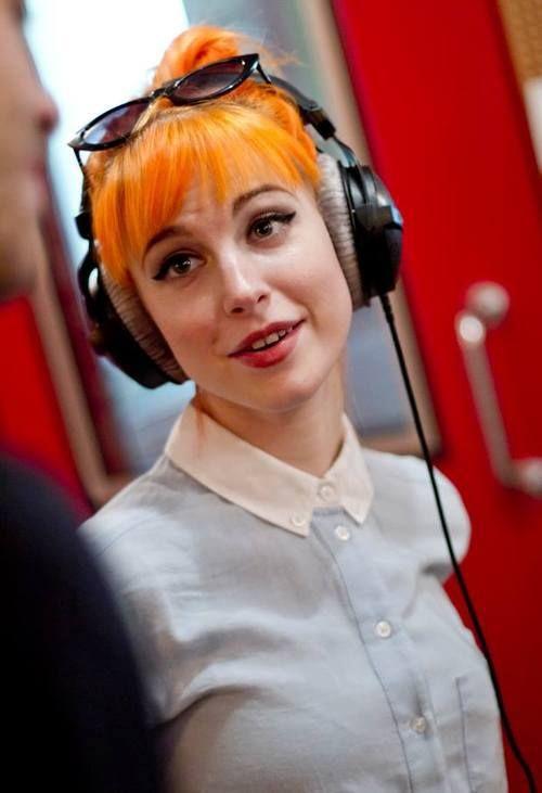 At Radio Deejay, Milan, Italy - 2013 June 11