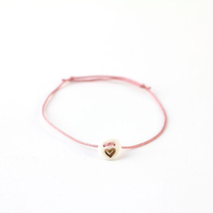 Armband aus Porzellan #armband #schmuck #porzellan penelop* - Herzgoldy