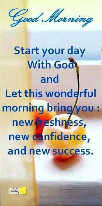 Good Morning †