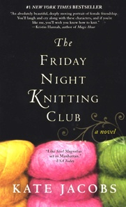 This is a link to the book I am reading, The Friday Night Knitting Club by Kate Jacobs. I am not finished with it but it is VERY difficult to put it down.