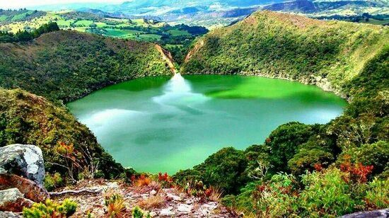 La laguna de Guatavita