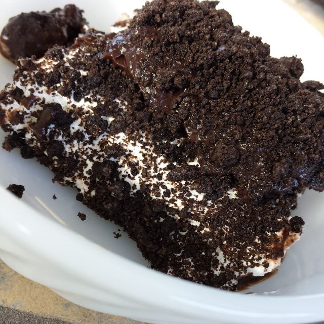 Oreo Dirt Cake. Omgosh totally forgot about this. It's so good can't wait to make it
