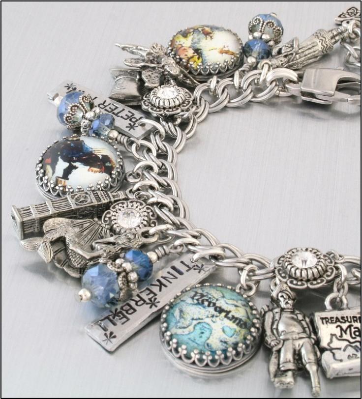 Tinkerbell Charm Bracelet: Silver Charm Bracelet
