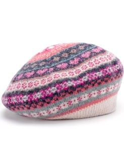 Abbey Fairisle beret