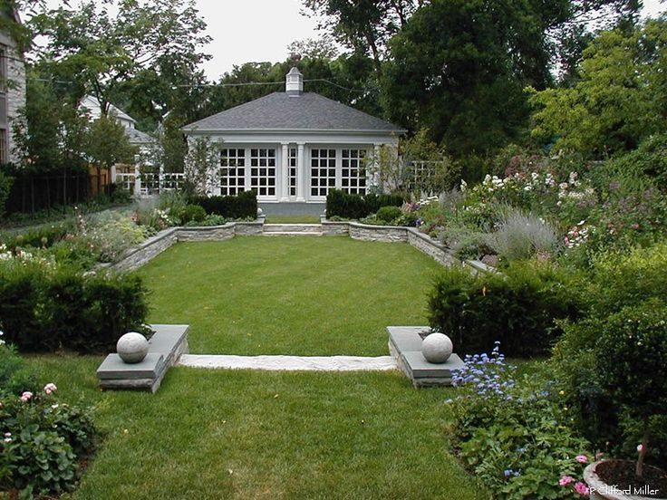 53 best images about dendronica ogrody on pinterest for Formally designed lawn