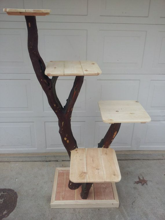 Cat Tree Or Cat Playground By Mbonin On Etsy 225 00 Well I Would Have Andy Made It For His Cats Not A Cat Person Diy Cat Tree Cat Tree Cat Playground