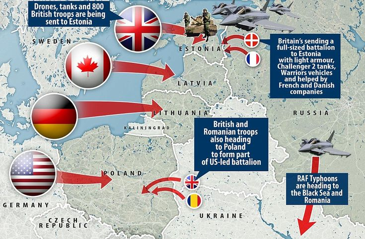 France, Denmark, Italy and other allies are expected to join the four battle groups led by...