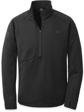 Outdoor Research Men's Radiant Hybrid Pullover Black XXL