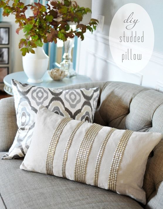 Decorating With Pillows 67 best detailed pillows images on pinterest | studs, cushions and