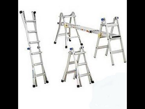 How to build a ladder platform, by Matt Fox of HGTV's room by room. - YouTube