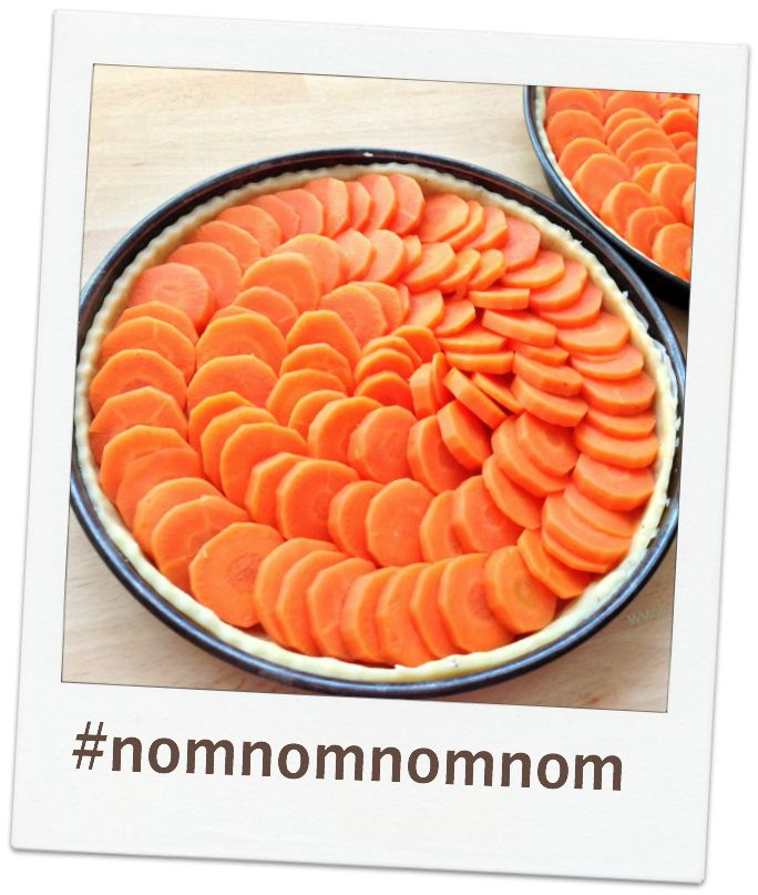 Perfekt zum Brunch: Möhren-Quiche mit feiner Gorgonzolasauce