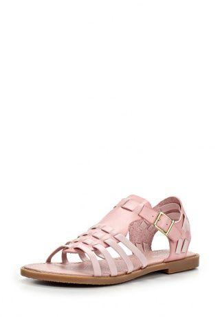 Сандалии Зебра выполнены из натуральной кожи нежно-розового оттенка. Детали: открытый мыс, тонкие ремешки, мягкая кожаная стелька, невысокий каблук. http://j.mp/1nlywls