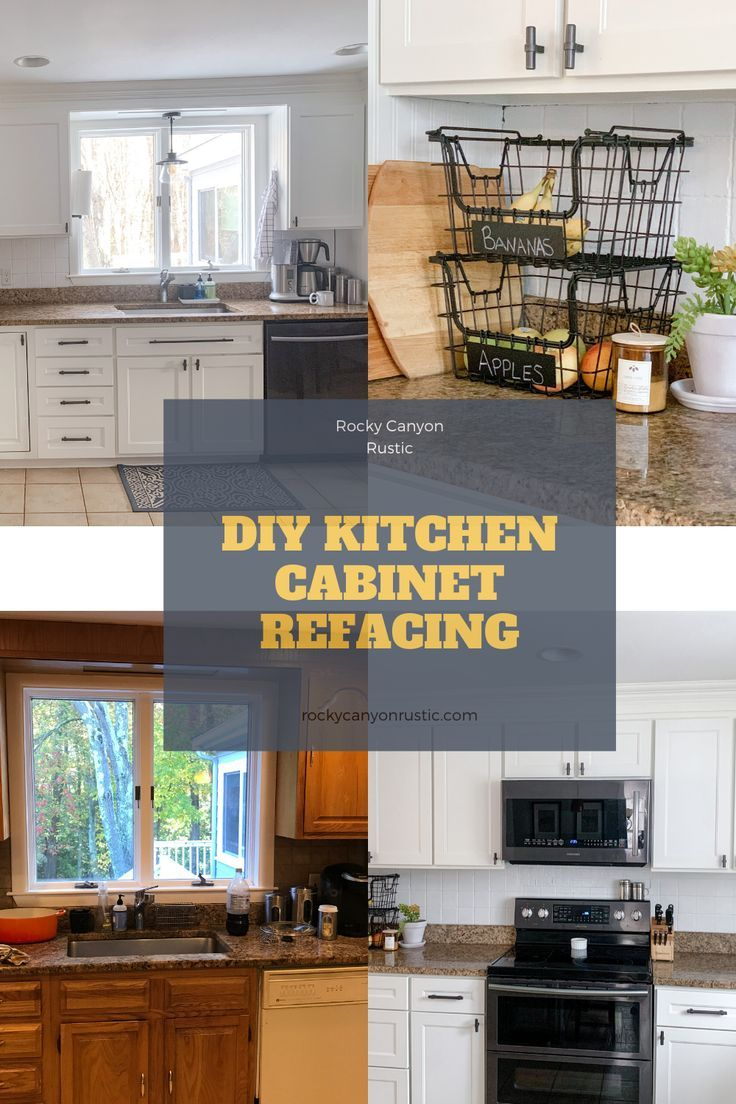 Diy Kitchen Cabinet Refacing In 2020 Kitchen Cabinets On A Budget Refacing Kitchen Cabinets Diy Kitchen Cabinets