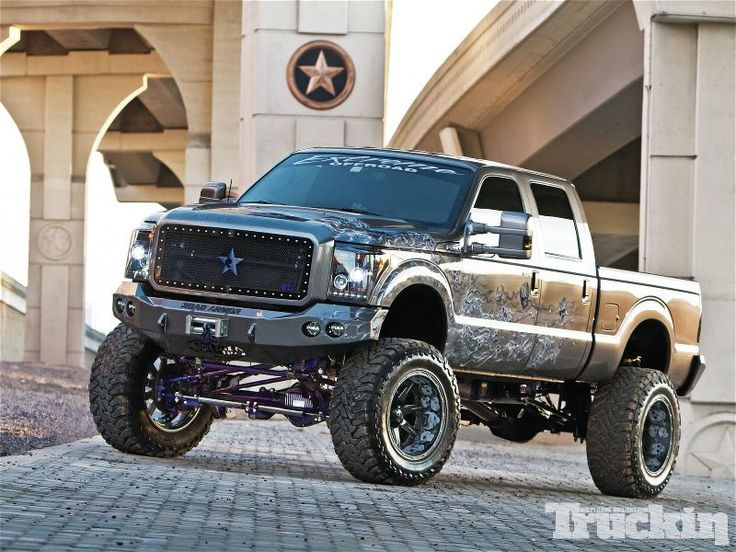 high lifted trucks | Ford F250 Lifted Truck