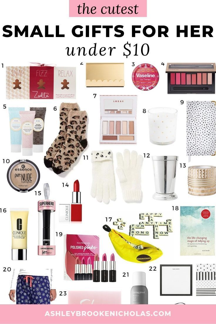 Small Gifts For Her Under 10 Stockingstuffers Affordable 2019 Christmas Gift Guide Click Geschenke Unter 10 Geschenke Fur Jugendliche Coole Weihnachtsideen